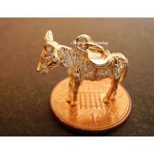 Donkey 9ct Gold Charm