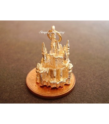 Fairytale Castle 9ct Gold Charm
