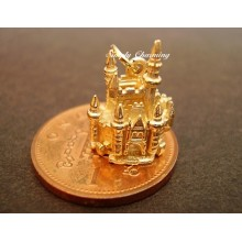 Fairytale Castle Opening 14ct Gold Charm