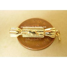 Christmas Cracker 9ct 9k Gold Charm