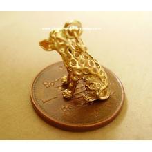 Dalmation Dog 9ct Gold Charm