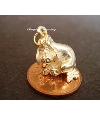 Eeyore 14ct Gold Charm