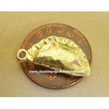 9ct 9k Gold Cornish Pasty Pie Charm