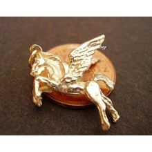 Pegasus 9ct Gold Charm