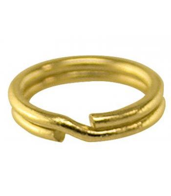 9ct Gold Split Rings 7mm