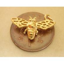 18ct 18k Gold Bee Charm