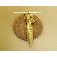 18ct 18k Gold Carrot Charm