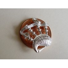 Sterling Silver Charms - Bagpipes Charm