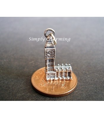 Sterling Silver Charms - Big Ben Charm