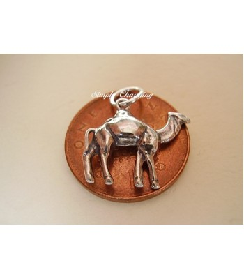 Camel .925 Sterling Silver Charm Charms