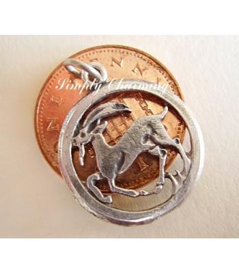 Capricorn Zodiac Sterling Silver Charms