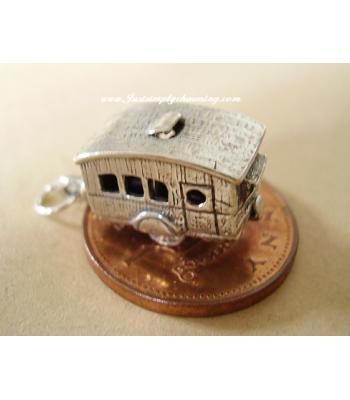 Sterling Silver Caravan Opening Charm