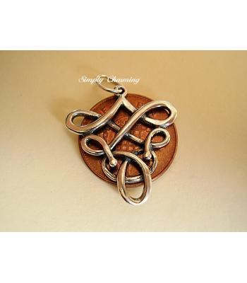Celtic Fertility Sterling Silver Pendant