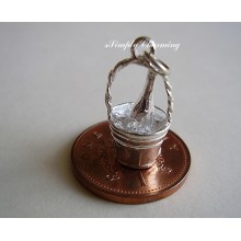 Champagne in Ice bucket Sterling Silver Charms