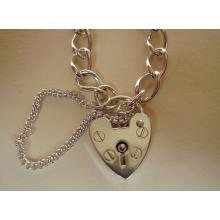 **New** (7.5) Sterling Silver Charm Bracelet
