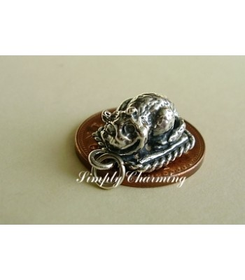 Cheshire Cat Sterling Silver Charms