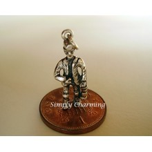 Coal Miner Sterling Silver Charm