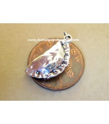 Sterling Silver Cornish Pasty Pie Charm