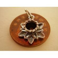 Daffodil Sterling Silver Charm