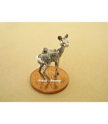 Deer Sterling Silver Charm