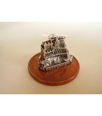 Edinburgh Castle Sterling Silver Charm