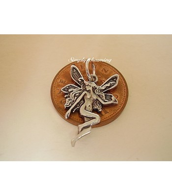 Fairy Sterling Silver Charm