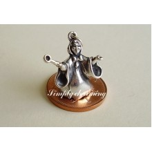 Fairy Godmother Sterling Silver Charm