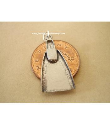 Sterling Silver Flipper Charm