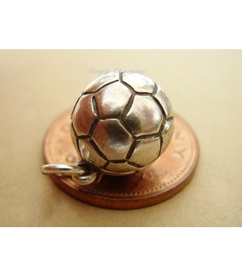 Football Opening Sterling Silver Charm