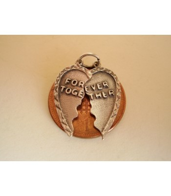 Forever Together Sterling Silver Charm