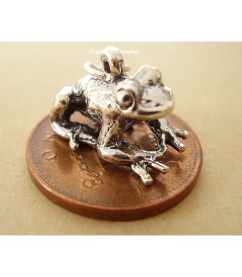 Frog Sterling Silver Charm