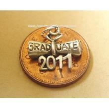 Graduation Diploma 2011 Sterling Silver Charm