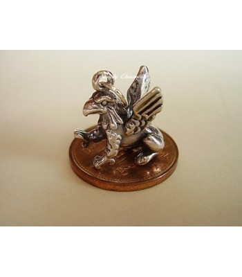 Gryphon Griffin Sterling Silver Charm