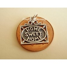 Home Sweet Home Sterling Silver Charm