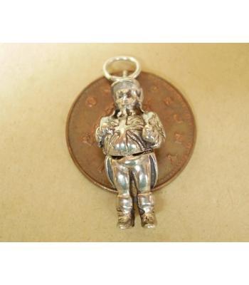 Sterling Silver Opening John Bull Charm