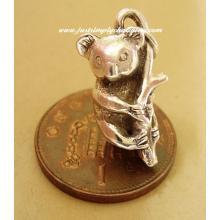 Koala Bear Sterling Silver Charm