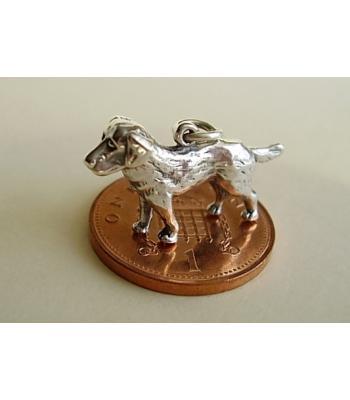 Labrador Dog Sterling Silver Charm