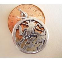 Leo Zodiac Sterling Silver Charm