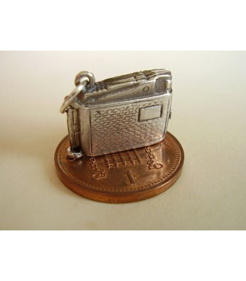 Lighter Opening Sterling Silver Charm