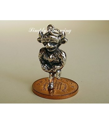 Lincoln Imp Sterling Silver Charm