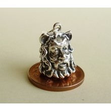 Lion Man From Wizard of Oz Sterling Silver Charm