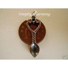 Welsh Lovespoon Sterling Silver Charm