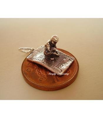 Magic Carpet Sterling Silver Charm