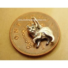 Isle Of Man Manx Cat Sterling Silver Charm