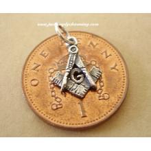 Masonic Sterling Silver Charm