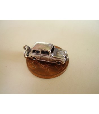 Mini Car Opening Silver Charm