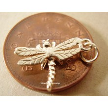 Miniature Dragonfly 9ct Gold Charm