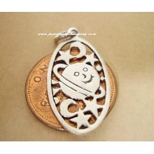 Moon & Stars Sterling Silver Charms / Pendant