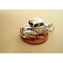Morris Minor Car Opening Sterling Silver Charm