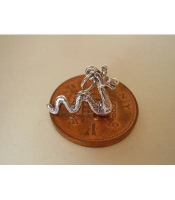 Loch Ness Monster Sterling Silver Charm